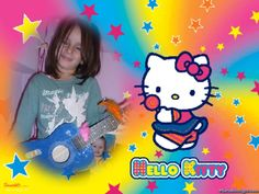 Awesome Pic Created by PhotoMontager.com Princess Peach, Hello Kitty, Create, Awesome, Facebook, Places, Lugares