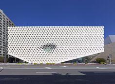 The Broad Art Museum - Picture gallery #architecture #interiordesign #façade #museum