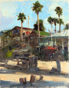 """Crystal Cove State Park is a very quiet place early in the morning. Another painting I created for the 19th Annual Laguna Beach Plein Air Painting Invitational. """"Crystal Cove Morning"""" (oil on linen, 14""""x18""""). #LPAPA19th #lagunabeach #california #patricksaunders #patricksaundersfineart #patricksaundersfinearts #patsaunders #pleinairstreaming #saundersfinearts #pleinairpainting #pleinairpainter #pleinairartist #pleinairinvitational #pleinair #enpleinair #crystalcovestatepark"""