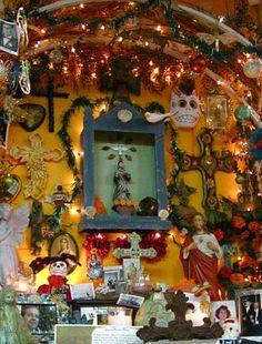 Casa Ramirez, Community Altar for Dia de Los Muertos