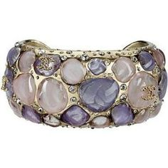#Chanel - the purple stone jewel... by gina