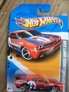 HOT WHEELS 2012 CODE CARS DODGE CHALLENGER DRIFT CAR  FREE SHIPPING!!