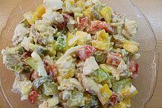 Eiweiß-Salat 1