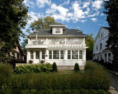 I always love the idea of a large property with a carriage house at one side where guests can stay and stuff