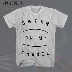 Swear On Chanel shirt by AniTohir on Etsy
