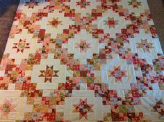 IMG_1033 | Flickr - Photo Sharing! Fabric: Butterscotch & Roses by Fig Tree Quilts for Moda Pattern: Ginger Belle by Carrie Nelson