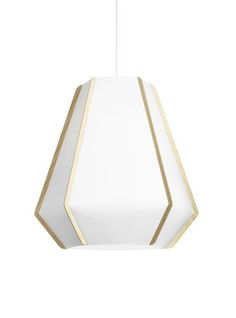 Original design stone paper pendant lamp LULLABY by Monica Förster | 2014 Lightyears