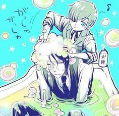 Kuroshitsuji Ciel e Sebastian