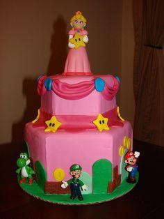 Princess Peach Power Super Mario BirthdayMario Birthday PartySuper