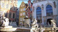 Pomnik Neptuna w Gdańsku. Fot. radio RMF FM
