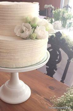 Cupcake: Branco sobre branco!