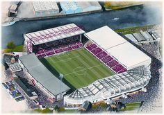 City Ground(Nottingham Forest) @ http://sportsstadiaart.com