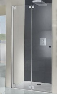 Bathroom Shower Ideas to Expand on Your Experience Tiny House Bathroom, Bathroom Renos, Bathroom Renovations, Small Bathroom, Bathroom Ideas, Family Bathroom, Bathroom Storage, Master Bathroom, Bifold Shower Door