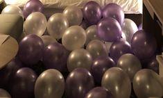バルーンデコレーション専門サービス|Loved up balloons|ラベンダーとホワイトの風船