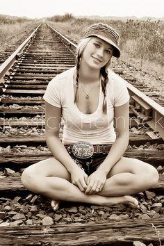Really want a photo on the tracks soo cute