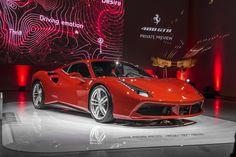 The Ferrari 488 GTB; what a beauty! #luxury #cars #carleasing