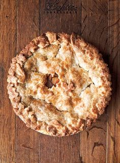 Hot Buttered Rum Apple Pie Recipe (An unconventional approach to apple pie that happily involves rum and lotsa butter. We guarantee it's as memorable as the classic.)
