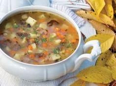 Czech Recipes, Cheeseburger Chowder, Soups, Cooking Recipes, Food And Drinks, Soup, Recipes, Chowder