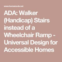 How To Determine Wheelchair Ramp Length Required For