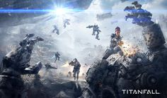 Titanfall (Game Informer Cover) by 2buiArt on deviantART