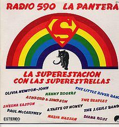 Various-60s & 70s, Varios Radio 590 La Pantera La Superstacion, Mexico, Promo, Deleted, vinyl LP album (LP record)