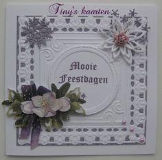 3d Cards, Paper Frames, Poinsettia, Christmas Cards, Embroidery, Card Ideas, Decor, Design, Xmas Greeting Cards