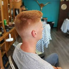 WEBSTA @ jeffsspecial_cutthebull - Love cutting #redhair Lots of texture on top and faded on the sides #cutthebull #barbershopcutthebull#barber #barberlife #barberlove #barbergame #barbershop #menshair #mensgrooming #mensfashion #hairporn #haircut #hairstyle #hair #barbershopconnect #menspire #nastybarbers #barbersince98 #dutchbarbersconnect #wahl #barberschoolamsterdam #barberschool #amsterdam