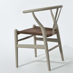 Wishbone Stoel CH24 Rattan Kleur - Replica design meubelen  http://www.retrofurnish.com/nl/ch24-style-rattan-dining-chair-coloured.html