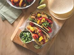 6 Easy Recipes To Change How You Eat: Dinner: Chicken Fajitas with Fruit Vegetables http://www.prevention.com/food/healthy-eating-tips/?s=7