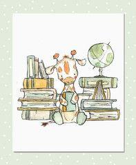 bookish giraffe | Trafalgar's Square