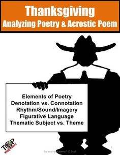 how to teach poetry analysis