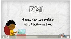 Le site qui fourmille d'idées pour des travaux de publication en EMI avec vos élèves ! Media Literacy, Education College, Lectures, Fake News, Kids Learning, Marketing, Words, Information, French