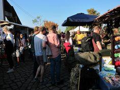 Meuerpark flea market in Berlin