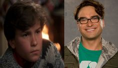 Chevy Chase's Christmas then, BBT now - Johnny Galecki