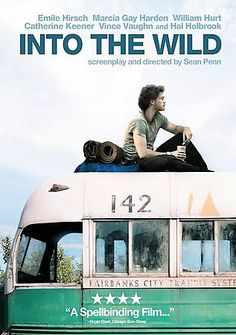 Into the Wild [PN1995.9.A3 I586 2008]  	Freshly graduated from college with a promising future ahead, Christopher McCandless walked out of his privileged life and into the wild in search of adventure. What happened to him on the way transformed this young wanderer into an enduring symbol for countless people, a fearless risk-taker who wrestled with the precarious balance between man and nature. Based on a true story.
