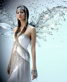 Romantic Wedding Dresses with Diamonds and Butterflies by robessoiree.fr , via Behance