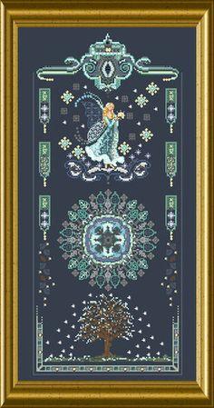 Châtelaine Designs  Winter Fairy