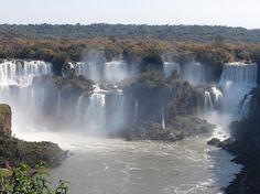 이구아수 폭포 (Iguazu Falls)  유네스코세계유산, 브라질, 아르헨티나 국경