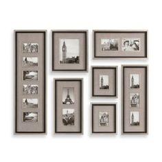 Uttermost Massena 7-Piece Picture Frame Collage - BedBathandBeyond.com I LOVE this set!
