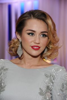 Miley Cyrus Photos Photos - Singer Miley Cyrus attends CIROC Vodka at 20th Annual Elton John AIDS Foundation Academy Awards Viewing Party at The City of West Hollywood Park on February 26, 2012 in Beverly Hills, California. - CIROC Vodka At 20th Annual Elton John AIDS Foundation Academy Awards Viewing Party