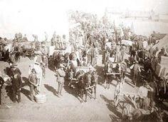 April 22, 1889: The Oklahoma land rush begins #Sooners