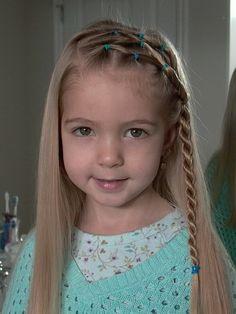 Little Girl Braids Thin Hair | Publicado por Tulipanes Amarillos en 0:40