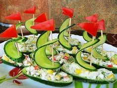 Gallery.ru / Фото #148 - карвинг и украшалки для блюд - semynova