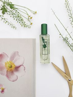 Floral Flatlay   Jo Malone perfume   Spring Flowers