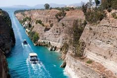 """Corinth Canal, Peloponnese, Greece    Photo by Georgios Makkas  Classic Family Fun    Greece is much more than a big museum with a """"do not touch"""" sign hanging on it. The whole family can splash along the beaches, head to public parks and playgrounds, and explore archaeological sites.    Here are eight destinations across the country where kids and adults alike can have a good time."""