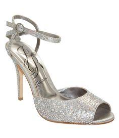 Silver:J. Renee Jordy Dress Sandals