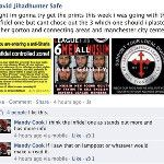 So yeah, if you see any #EDL fly posting in Gorton, it's this guy. The police already have him on file...