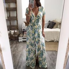 Margaritaville Wrap Dress
