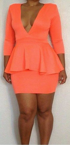 I would try a cut dress like this