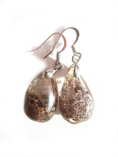 Landscape Quartz Earrings by NakiaDesign on Etsy, $25.99